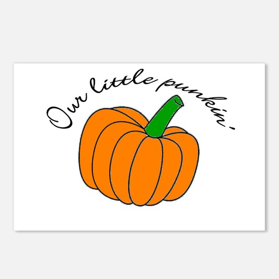 Our little Punkin Postcards (Package of 8)