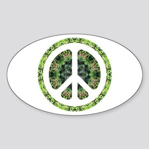 CND Floral7 Oval Sticker