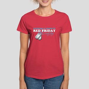 Supporting my Soldier Women's Dark T-Shirt