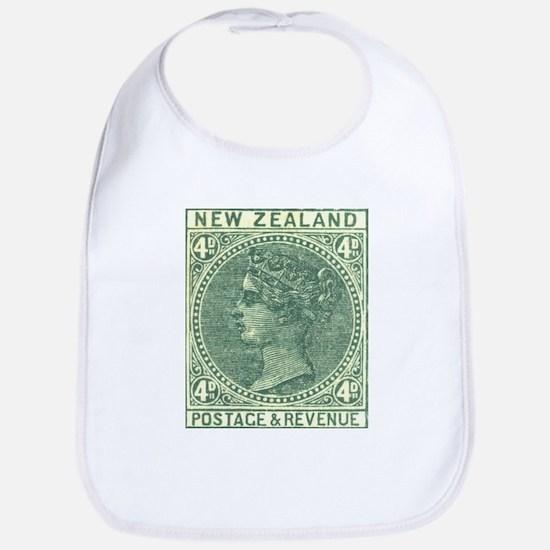 New Zealand Sidefaces II Bib