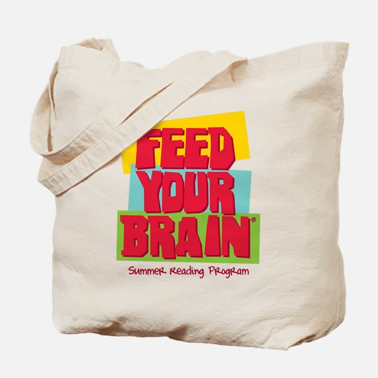 """""""Feed Your Brain"""" Tote Bag"""