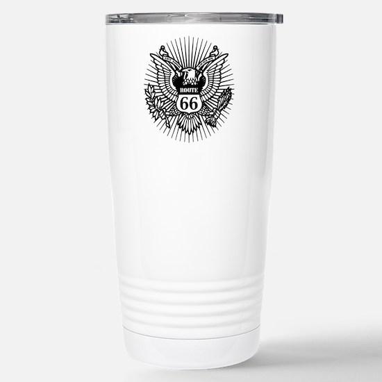 Official Rt. 66 Stainless Steel Travel Mug
