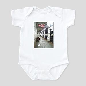 Lonely New York City Subway Infant Bodysuit