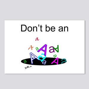 Don't be an A Hole Postcards (Package of 8)