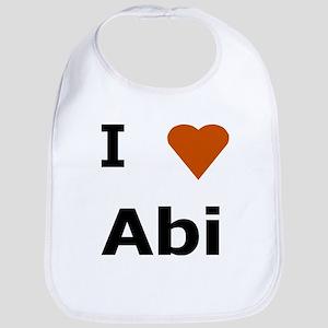 I love Abi Bib