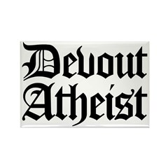 Devout Atheist Rectangle Magnet (10 pack)