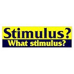 Stimulus? Bumper Sticker (50 pk)