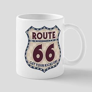 Retro Vintage Rte 66 Mug