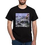 Ægir and Ran Black T-Shirt