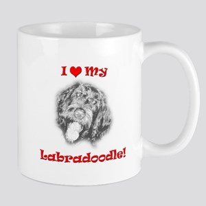 Labradoodle - Labradore Poodle Hybrid Dog - I Love