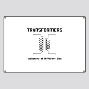 Transfomers Inductors of Different Size Banner