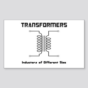 Transfomers Inductors of Different Size Sticker (R