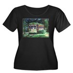 New Orleans Streetcar Women's Plus Size Scoop Neck