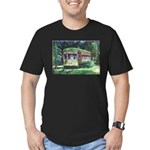 New Orleans Streetcar Men's Fitted T-Shirt (dark)