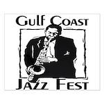 Jazz Fest Gulf Coast Small Poster