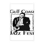Jazz Fest Gulf Coast Mini Poster Print