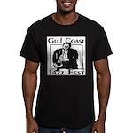 Jazz Fest Gulf Coast Men's Fitted T-Shirt (dark)