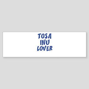 TOSA INU LOVER Bumper Sticker