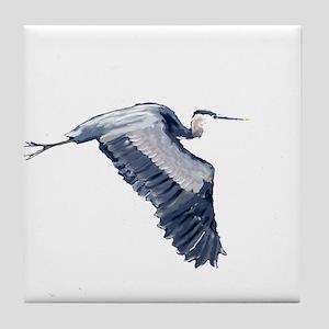 heron design Tile Coaster