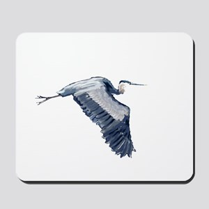 heron design Mousepad