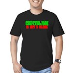 Capitalism is not a Crime! Men's Fitted T-Shirt (d
