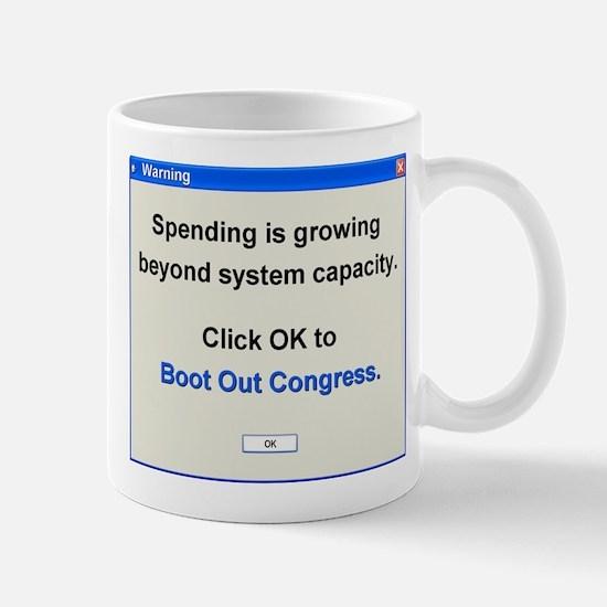 Spending Beyond Capacity Mug