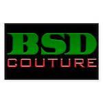 Logo Shop Rectangle Sticker