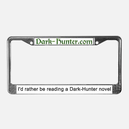 Unique Dark hunters License Plate Frame