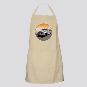 The Big Job Firetruck BBQ Apron