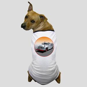 The Big Job Firetruck Dog T-Shirt