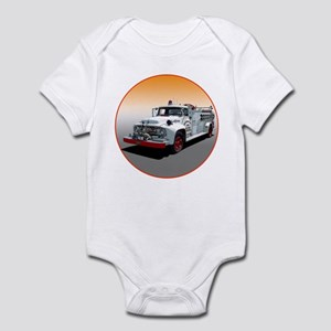 The Big Job Firetruck Infant Bodysuit