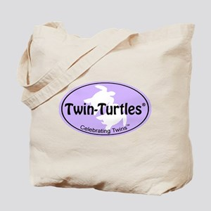 Twins Oval-Label Tote Bag
