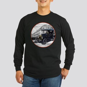 The Touring T Long Sleeve Dark T-Shirt
