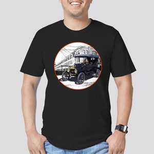 The Touring T Men's Fitted T-Shirt (dark)