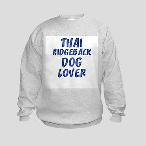 THAI RIDGEBACK DOG LOVER Kids Sweatshirt