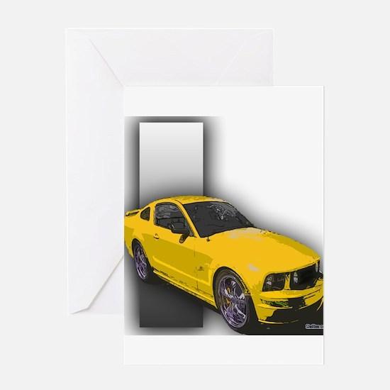 MustangGT-RWB Greeting Card