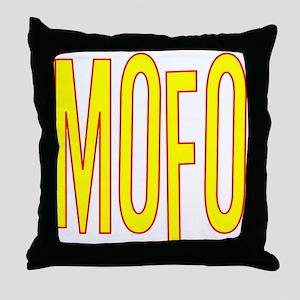 MOFO Throw Pillow