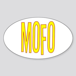 MOFO Sticker (Oval)