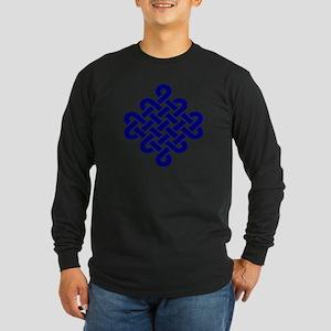 Endless Knot Long Sleeve Dark T-Shirt