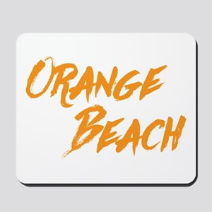 Orange Beach Mousepad