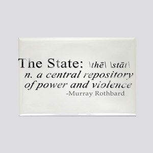 Definition of The State by Rothbard Rectangle Magn