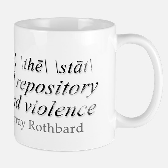 Definition of The State by Rothbard Mug