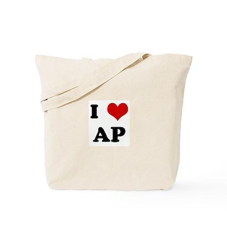 I Love AP Tote Bag