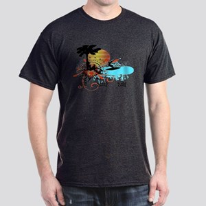 Eat Sleep Surf Dark T-Shirt