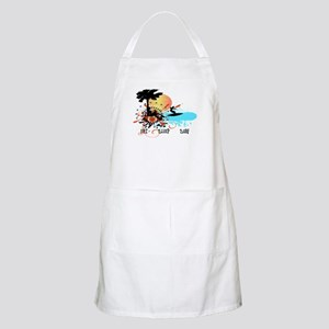 Eat Sleep Surf BBQ Apron