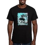 50th Birthday Men's Fitted T-Shirt (dark)