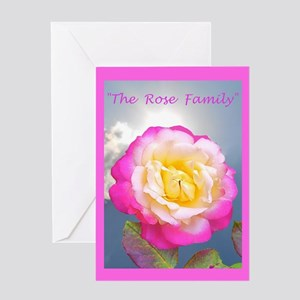 Robert Frost Rose Poem Greeting Card