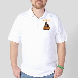 Diabetes Will Not Defeat Me Golf Shirt