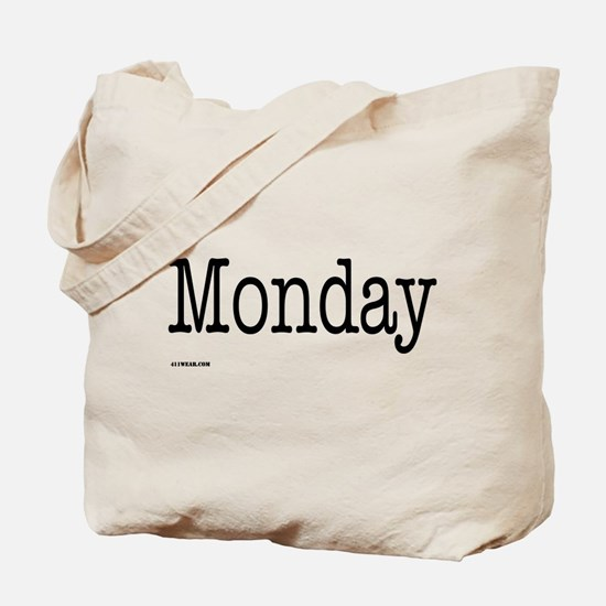 Monday - On a Tote Bag