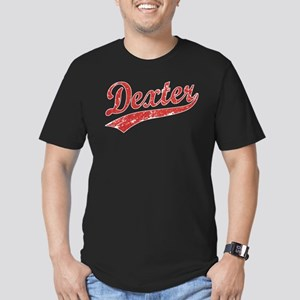 Team Dexter Men's Fitted T-Shirt (dark)